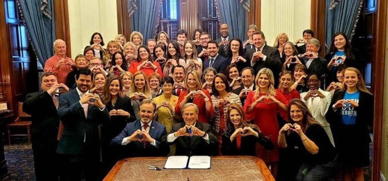 Heart Beat Hands Legislature